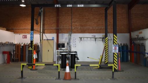 Global Gases Australia - Cylinder Hydro Testing